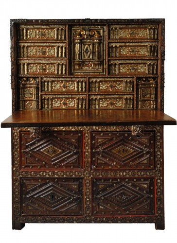 A 1620- 1640  Spanish Cabinet (Vargueno)
