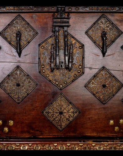 Furniture  - A 1620- 1640  Spanish Cabinet (Vargueno)
