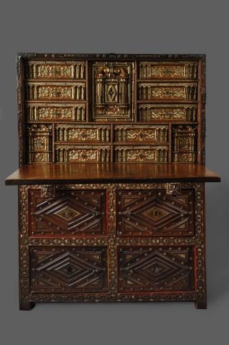 A 1620- 1640  Spanish Cabinet (Vargueno) -