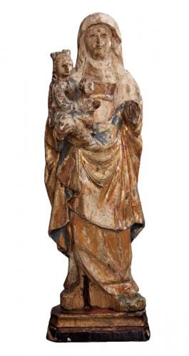 """Saint Anne """"Triplex"""". Mechelen School (Belgium), ca. 1500"""