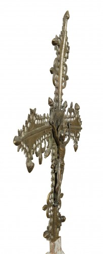 Religious Antiques  - Cross, Spain, late 15th century