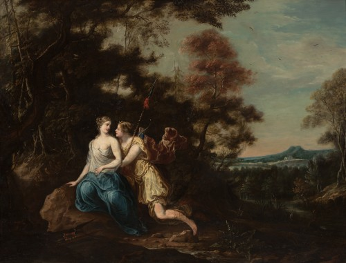 Diana and Callisto - French School of the late 17th century