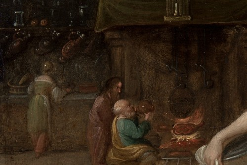 Paintings & Drawings  - Christ in the house of Martha an Mary -  - Frans Francken II