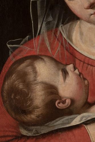Madonna and Child., Circle of Scipione Pulzone (Gaeta, 1544 - Rome, 1598). -