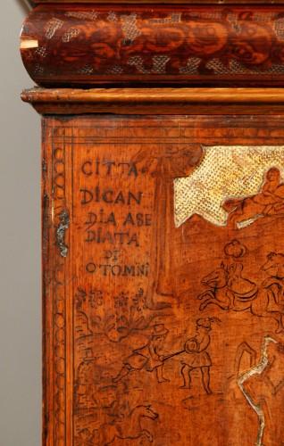 A Baroque cabinet.Italy. 17th  century -