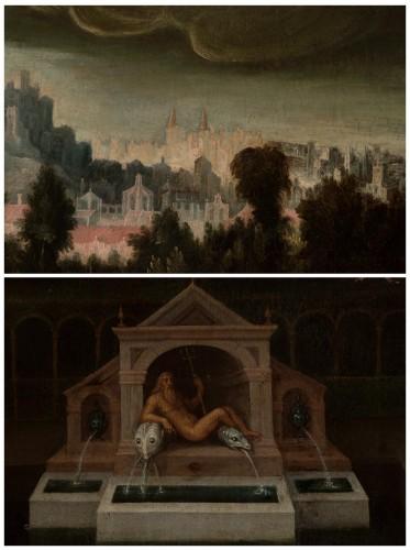Bathsheba at Her Bath -  Madrid School around 1620 -