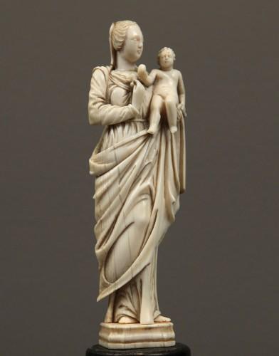 Madonna with Infant Jesus. France, circa 1700 -