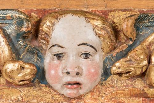 A pair of wood friezes reliefs; Spanish Renaissance. Around 1550-1580. - Renaissance