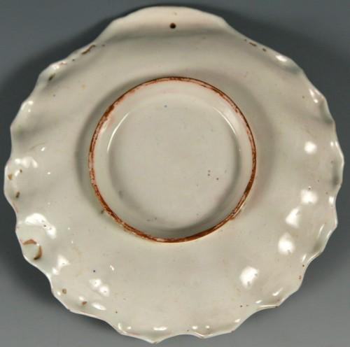 Porcelain & Faience  - Mancerina. ROYAL FACTORY OF ALCORA,1740 – 1760.