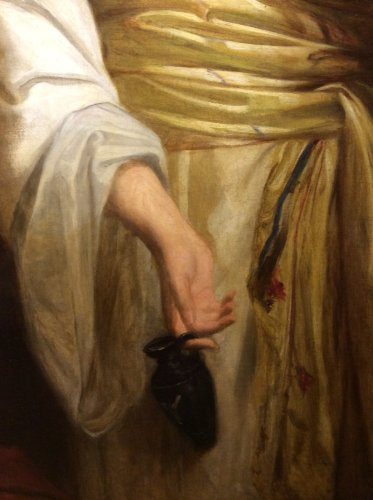 Paintings & Drawings  - John J. NAPIER - English School late 19th century - Women draped in Antique