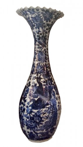 A Large shape Vase, second half of the 19th century