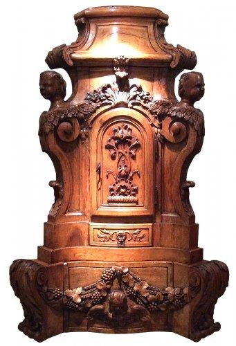 Sacristy Cabinet Oakwood