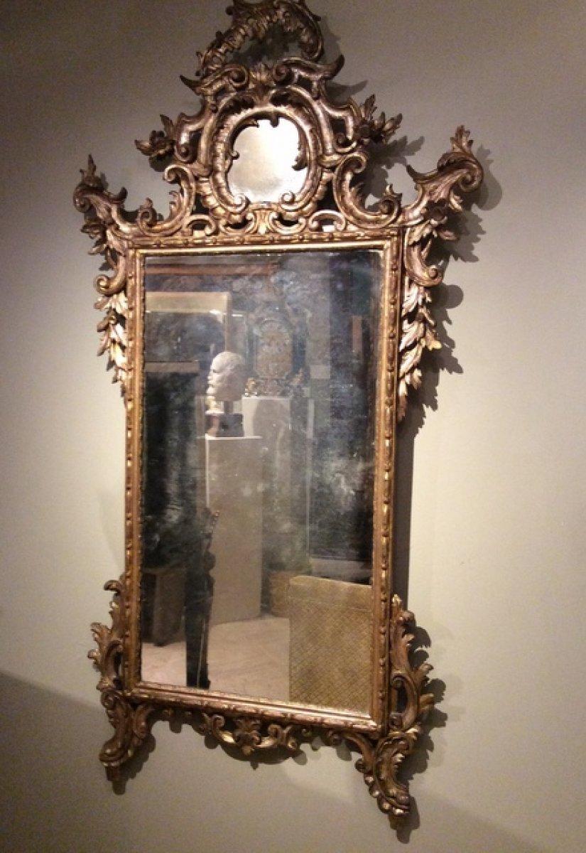 Miroir v nitien xviiie si cle for Miroir store