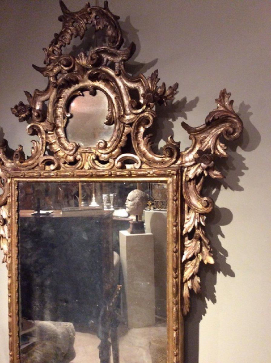 Miroir v nitien xviiie si cle for Miroir xviii