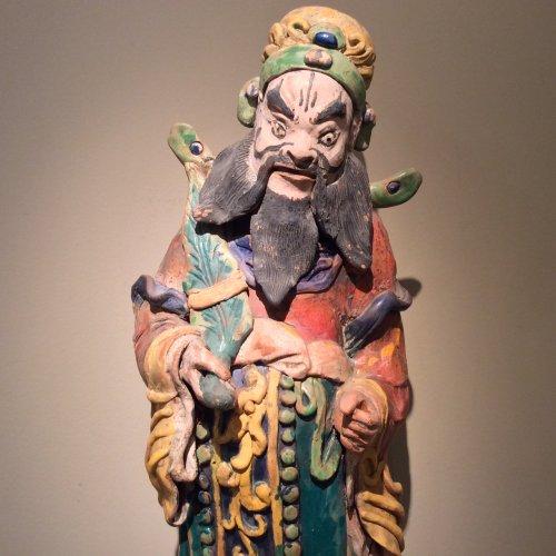 Chinese ceramic tile, China late nineteenth century - Asian Art & Antiques Style