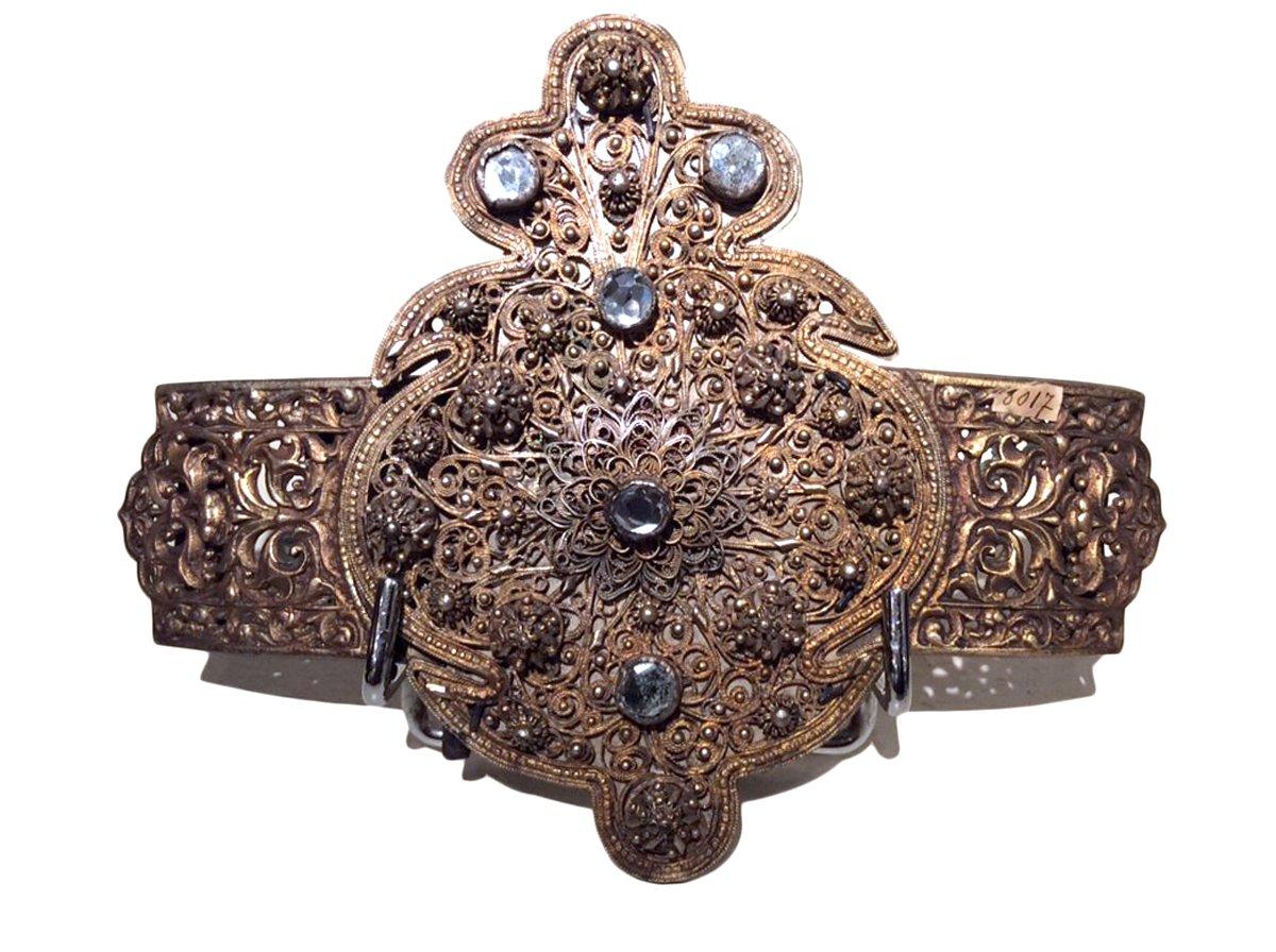 classique chic premier coup d'oeil modèle unique Boucle de ceinture en métal doré
