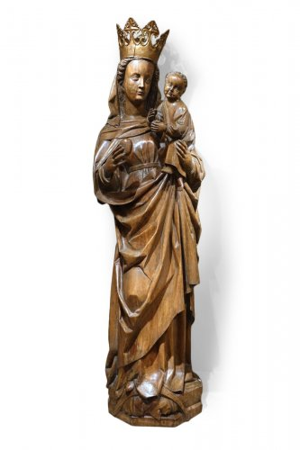 Standing Virgin and Child, South Germany, First Quarter of the 16th Century