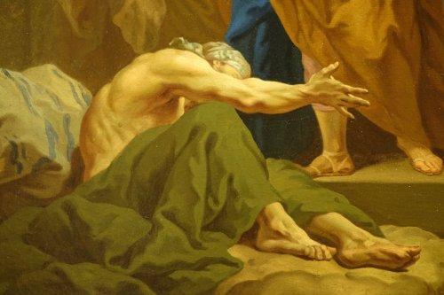 Saint Paul Healing the Sick at Ephesus, Attributed to Jean Restout  - Paintings & Drawings Style Louis XV