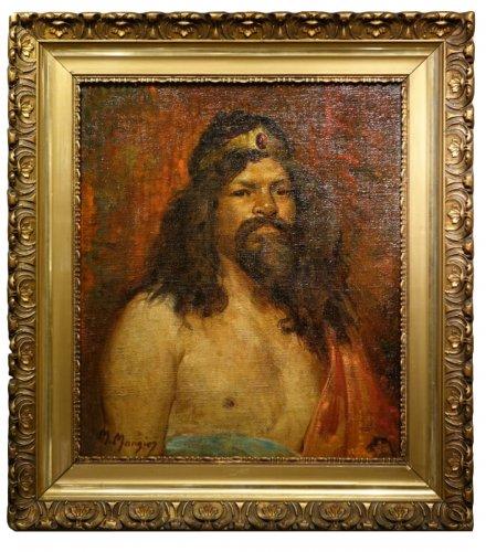 Workshop Portrait  - Marius MANGIER (1867-1952)