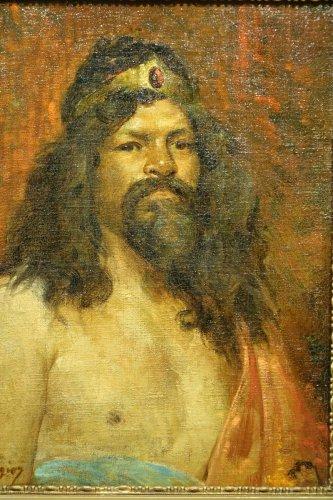 Paintings & Drawings  -  Workshop Portrait  - Marius MANGIER (1867-1952)