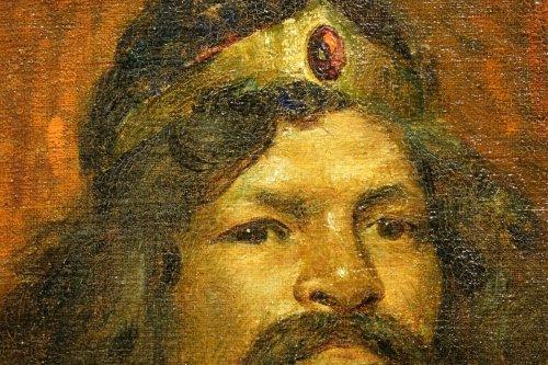 Workshop Portrait  - Marius MANGIER (1867-1952) -