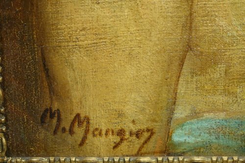 19th century -  Workshop Portrait  - Marius MANGIER (1867-1952)