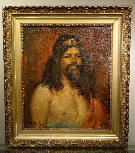 Workshop Portrait  - Marius MANGIER (1867-1952) - Art nouveau