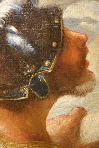 Paintings & Drawings  - Profile of Man in Armor -Venice, Italy, 17th Century