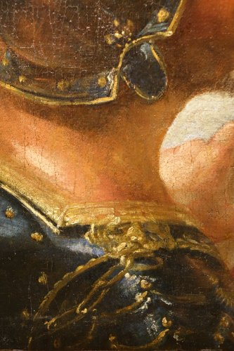 Profile of Man in Armor -Venice, Italy, 17th Century -