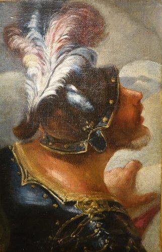 Louis XIV - Profile of Man in Armor -Venice, Italy, 17th Century