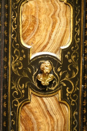 Florentine cabinet in marquetry of precious stones, circa 1800-1820 -