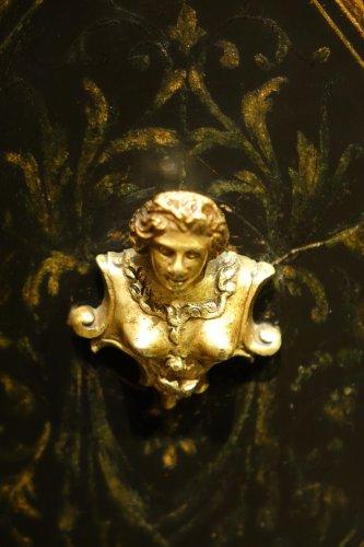 19th century - Florentine cabinet in marquetry of precious stones, circa 1800-1820
