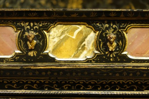 Florentine cabinet in marquetry of precious stones, circa 1800-1820 - Empire