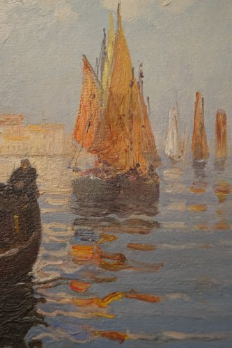 Paintings & Drawings  - A View of San Giorgio Maggiore - Suzanne Adam-Laurens 1861-1915