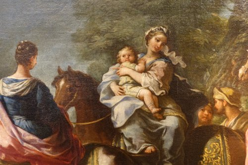 Paintings & Drawings  - Jacob Returns to Canaan, Attributed to Charles Amedée Van Loo