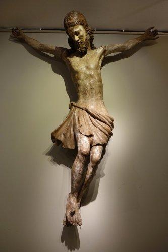 Antiquités - 15th Century Large Christ ,Bamberg, Germany