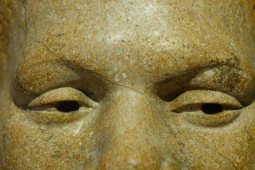 Head Of Black Man, Signed Paul Moreau-Vauthier 1934 - Sculpture Style Art Déco