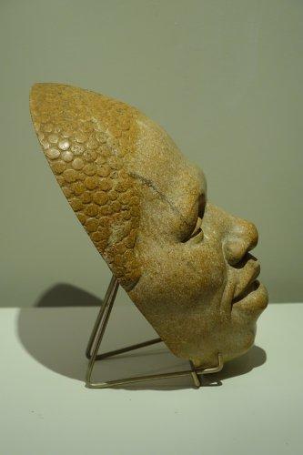 Head Of Black Man, Signed Paul Moreau-Vauthier 1934 -