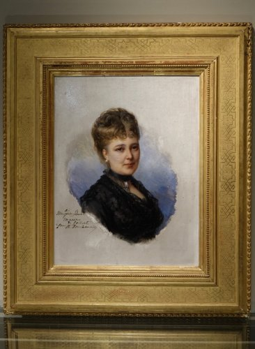 Antiquités - Portrait Of Mary Of Colbert 1882 -FAIVRE-DUFFER (1818-1897)