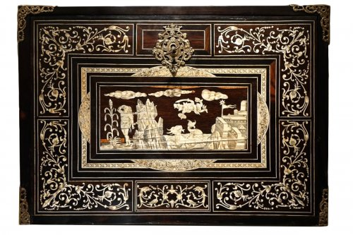 A 17th Century Rosewood Cabinet Augsburg or Venice