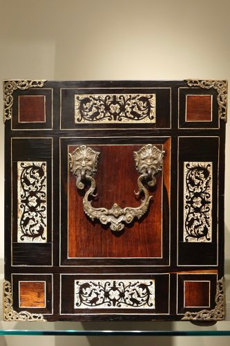 Furniture  - A 17th Century Rosewood Cabinet Augsburg or Venice