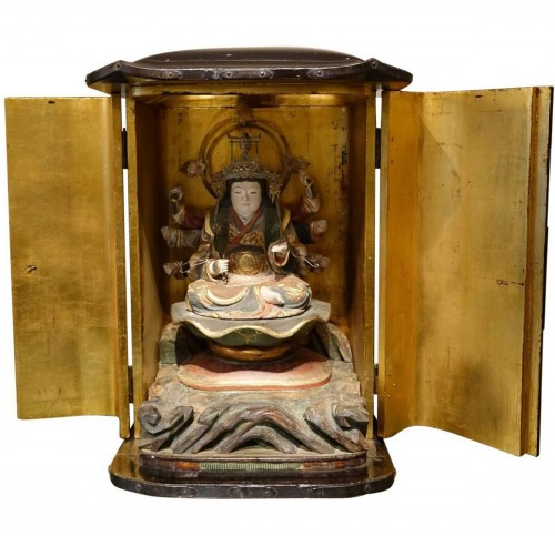 Japanese altar in lacquer, Edo Period (1603-1868)