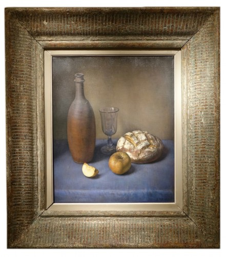 Jacques ABEILLE (1906-2003) - Nature morte à la miche de pain