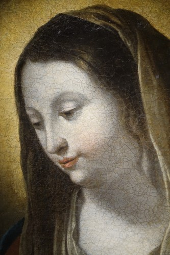 Virgin in Adoration, 17th Century French School  -
