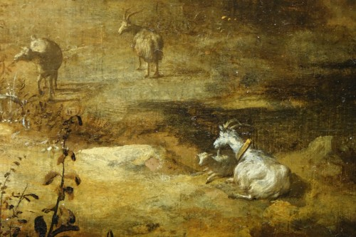 17th Century Oil on Panel Attributed to Bartholomeus Breenbergh -