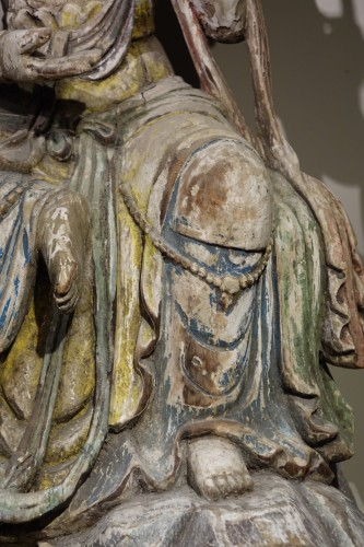Asian Art & Antiques  - Guanyin, the Chinese Form of the Bodhisattva, Ming Style, China, 19th Centu