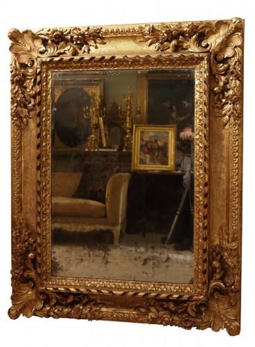 Large giltwood Mirror, circa 1850