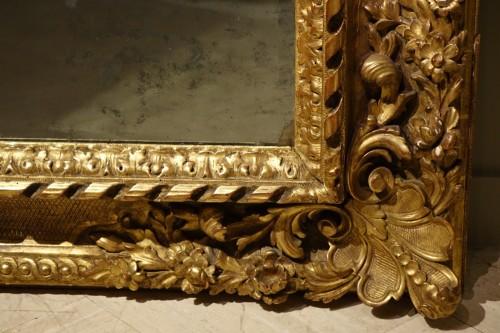 19th century - Large giltwood Mirror, circa 1850