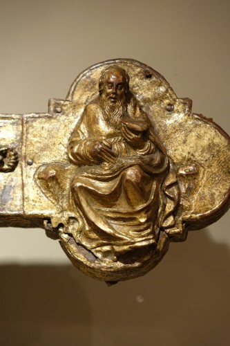 Large Procession Cross, Gilt Copper, Italy Probably the Region of Abruzzo - Renaissance