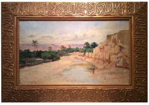 Biskra in 1885, - Eugene Girardet,1853-1907